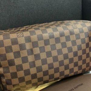 Louis Vuitton speedy 30 Damier Ebene Authentic
